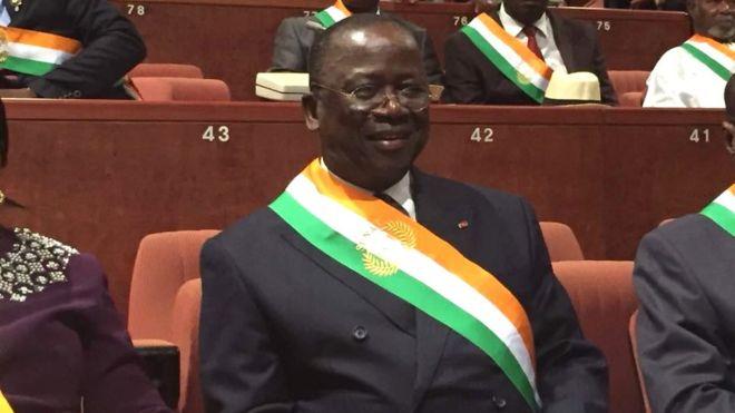 Jeannot Ahousso-Kouadio élu président du Sénat ivoirien