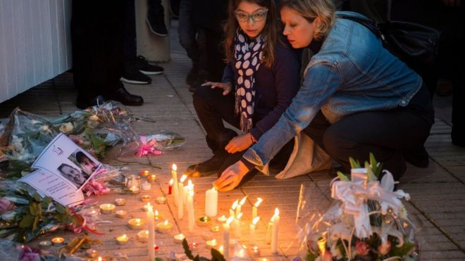 Morocco vigils for murdered Scandinavian tourists - BBC News