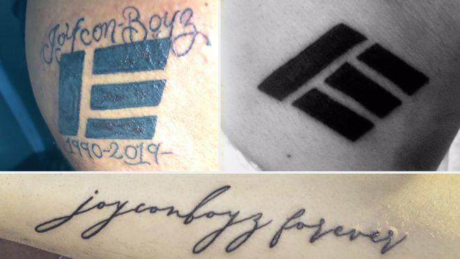 YouTube star Etika's fans tattooed in his memory - BBC News