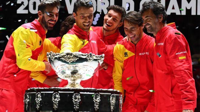 Equipo español de tenis de la Copa Davis