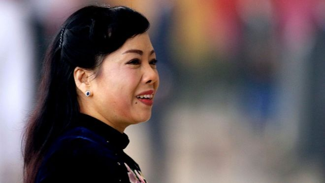 Bộ trưởng Bộ Y tế Việt Nam Nguyễn Thị Kim Tiến