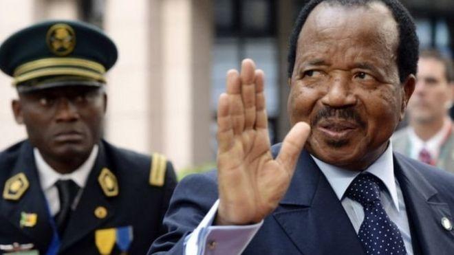 Rais Paul Biya ameliongoza taifa hilo kwa miongo mitatu