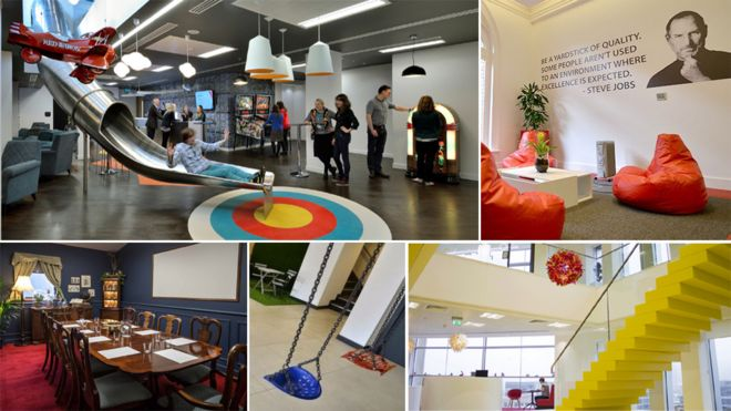 Apple office Workplace Offices Montage Bbc Are These Englands Trendiest Offices Bbc News