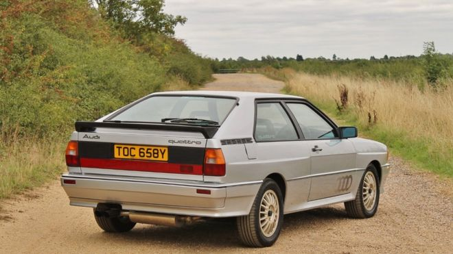 Rare Audi Quattro Sells For At Auction BBC News - Audi news