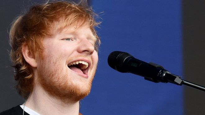 Excitement for ed sheerans record breaking cardiff gigs bbc news ed sheeran stopboris Image collections