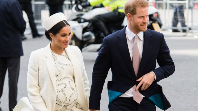 Royal baby: Meghan and Harry's 'break with tradition