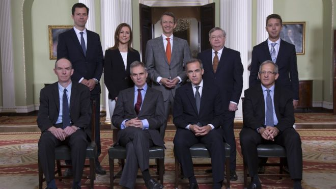 The Bank of England's Monetary Policy Committee has only one female member