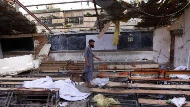 Kabil'de üniversite sınavı hazırlık kursuna intihar saldırısı: 48 ölü