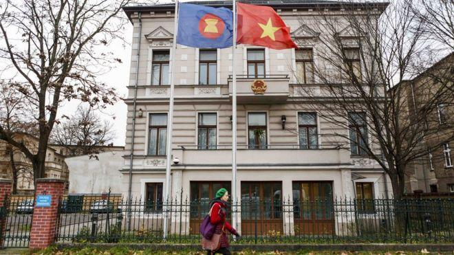 Đại sứ quán VN ở Berlin
