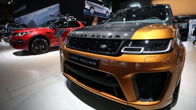 987b7e37 Jaguar Land Rover posts £3.4bn loss as China demand slips - BBC News