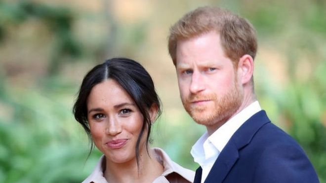 The Duke And Duchess of Sussex in Johannesburg