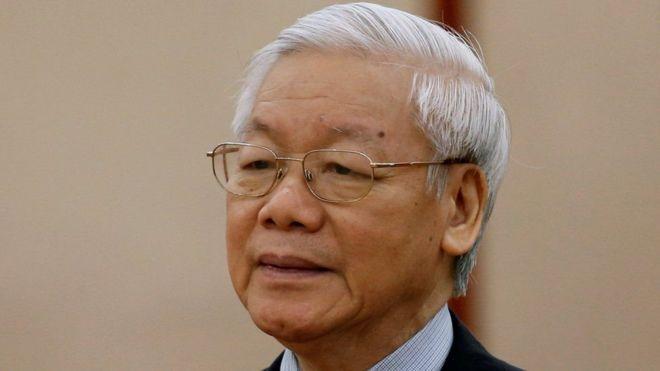 Ông Nguyễn Phú Trọng,