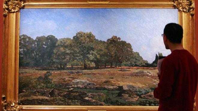 Exhibición del pintor impresionista Alfred Sisley.