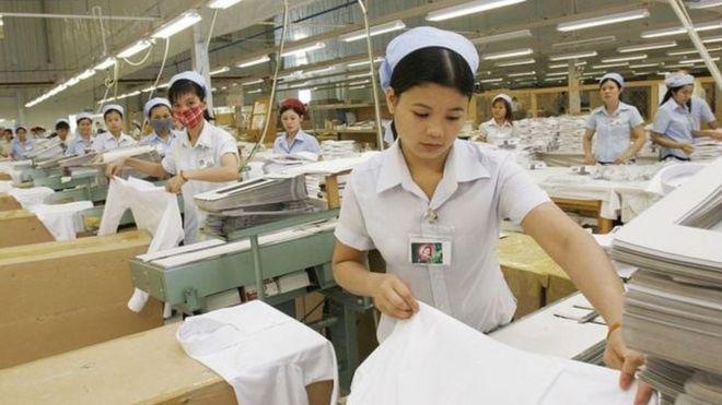 Hàng dệt may chiếm tỉ trọng cao trong xuất khẩu từ Việt Nam sang Hoa Kỳ