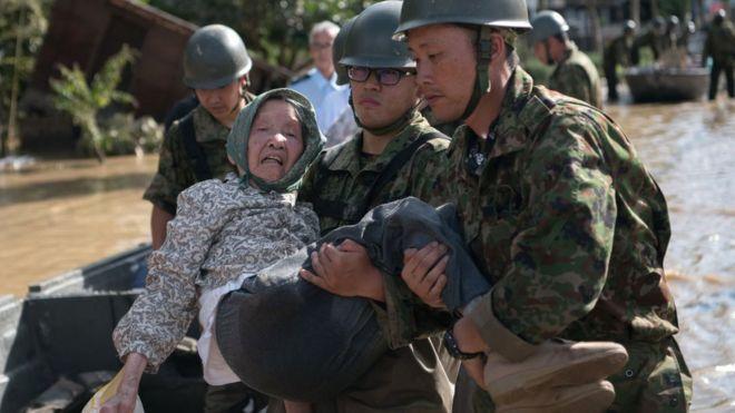 西日本豪雨、死者155人に - BBC...