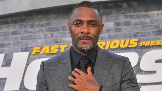 L'acteur Idriss Elba
