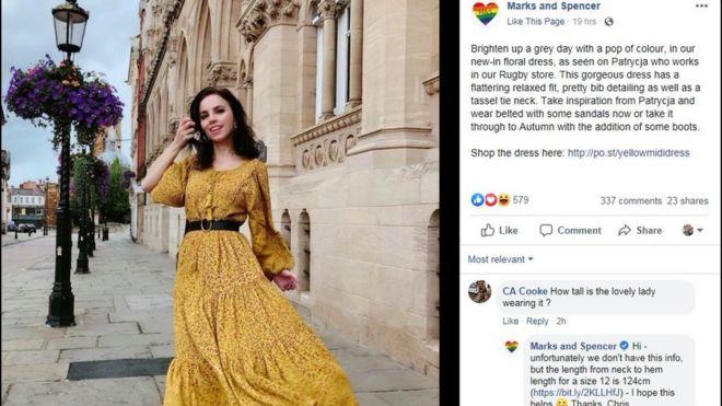 fd3d59d0 Marks and Spencer: Northampton photo shoot causes upset - BBC News