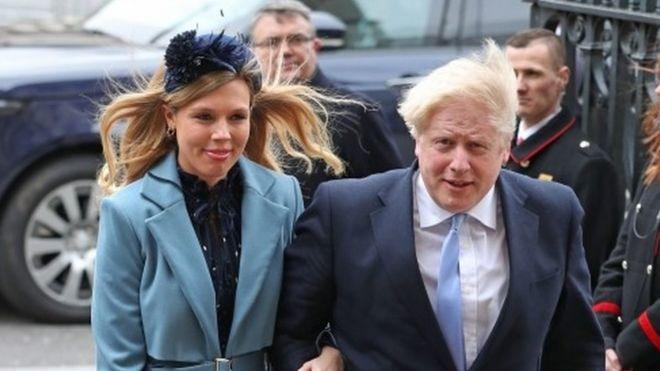 Boris Johnson ve nişanlısı Symonds'ın bir oğulları oldu