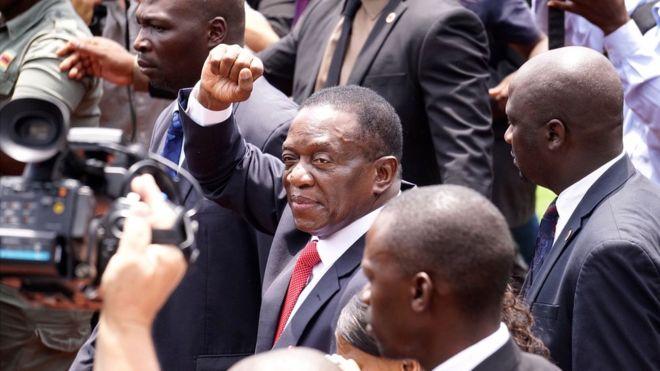 Tân Tổng thống Emmerson Mnangagwa