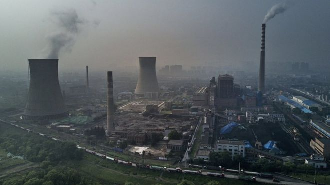 China coal power building boom sparks climate warning - BBC News