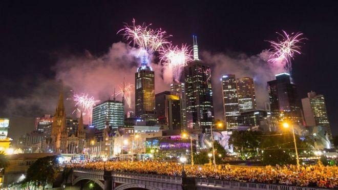 Ninkan ayaa lagu eedeeyay in uu qorshaynayay in uu bartilmaameedsado dabaaldegga sannadka cusub ee magaalada Melbourne