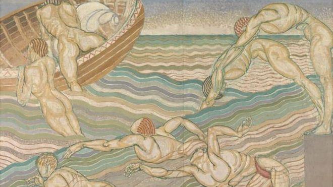 Quadro Banho, de Duncan Grant