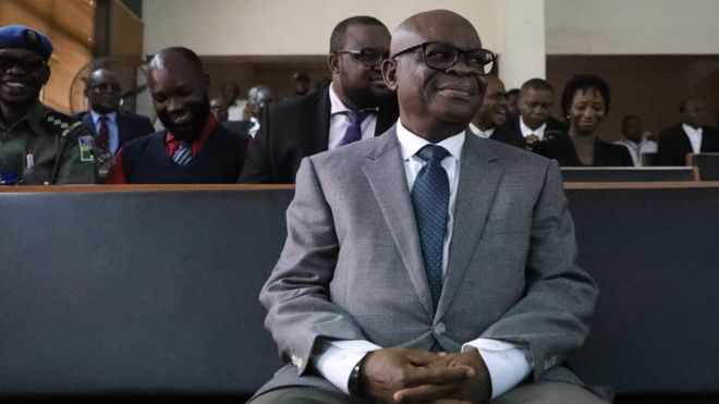 Walter Onnoghen in court