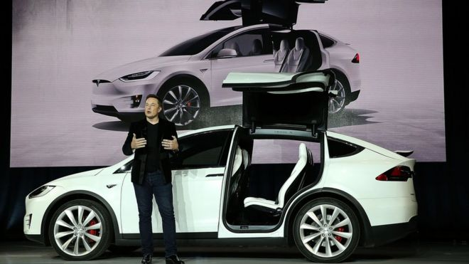 Tesla shares drop on disappointing quarterly performance
