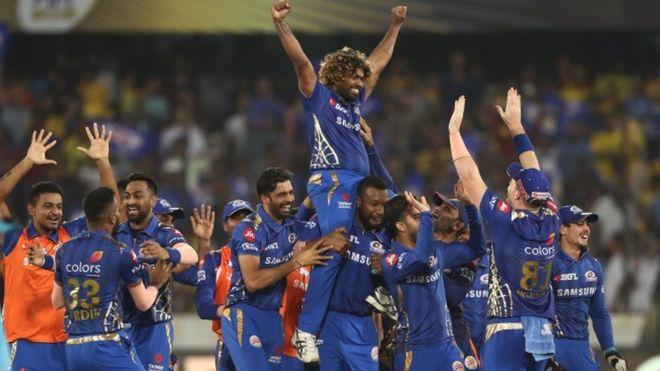 Image result for आखिरी गेंद पर मुंबई बना चैंपियन