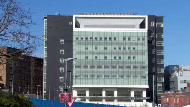 Most of £150m critical care building remains closed - BBC News