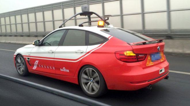 Baidu to share self-drive car technology - BBC News