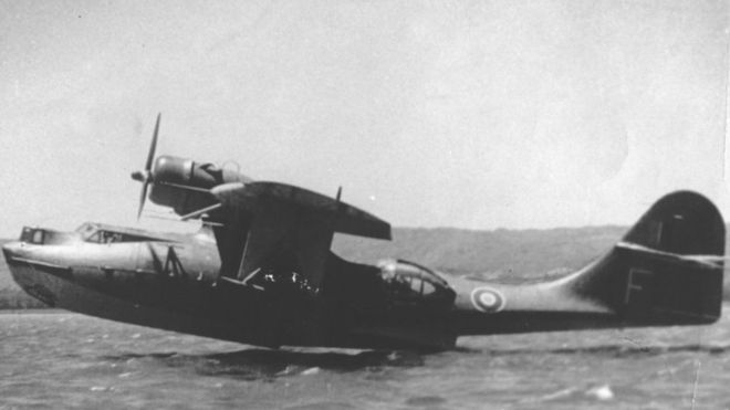 World War Two seaplane found at bottom of Lough Erne - BBC News
