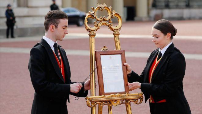 Ceremonial easel