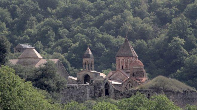 Деревня в горах