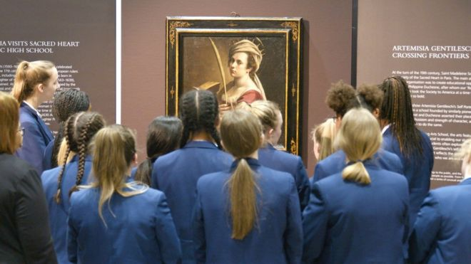 The £3 6m masterpiece hanging in our school - BBC News