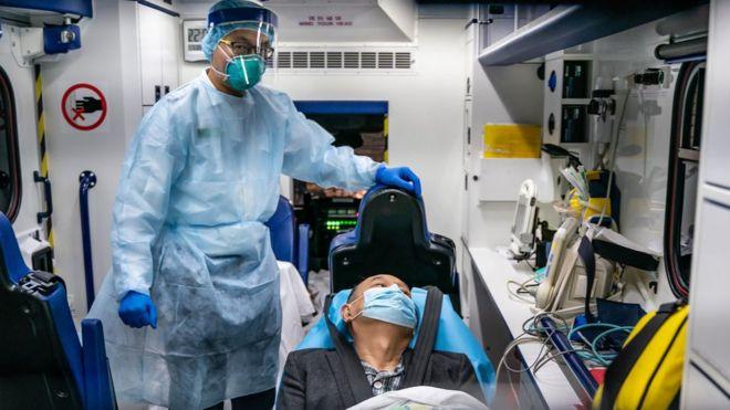 Suspected coronavirus patient