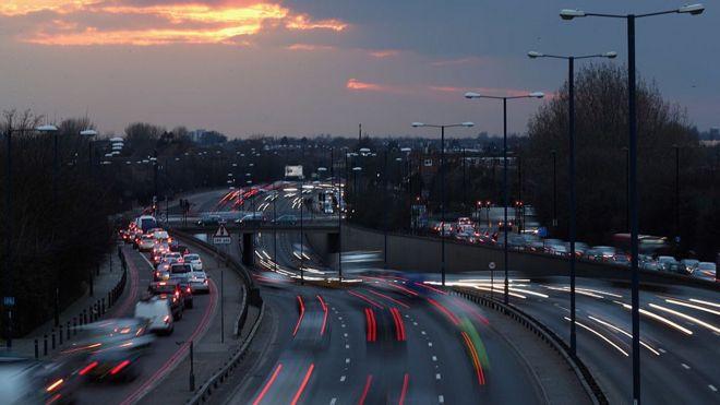 traffic on roads