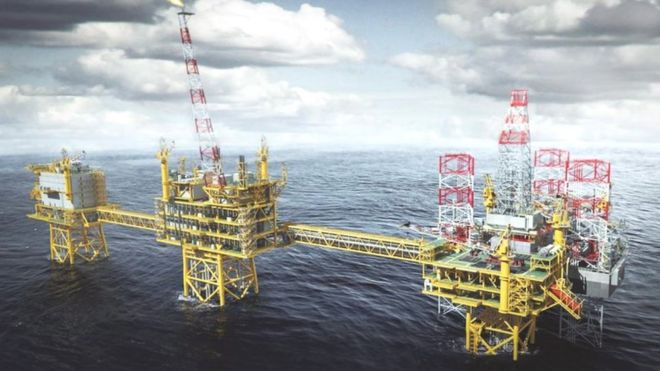 UK oil and gas production forecast raised - BBC News
