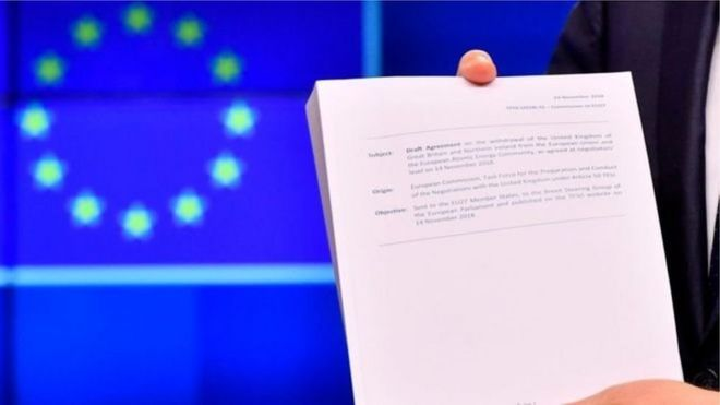 Thỏa thuận ra khỏi EU dài 585 trang,