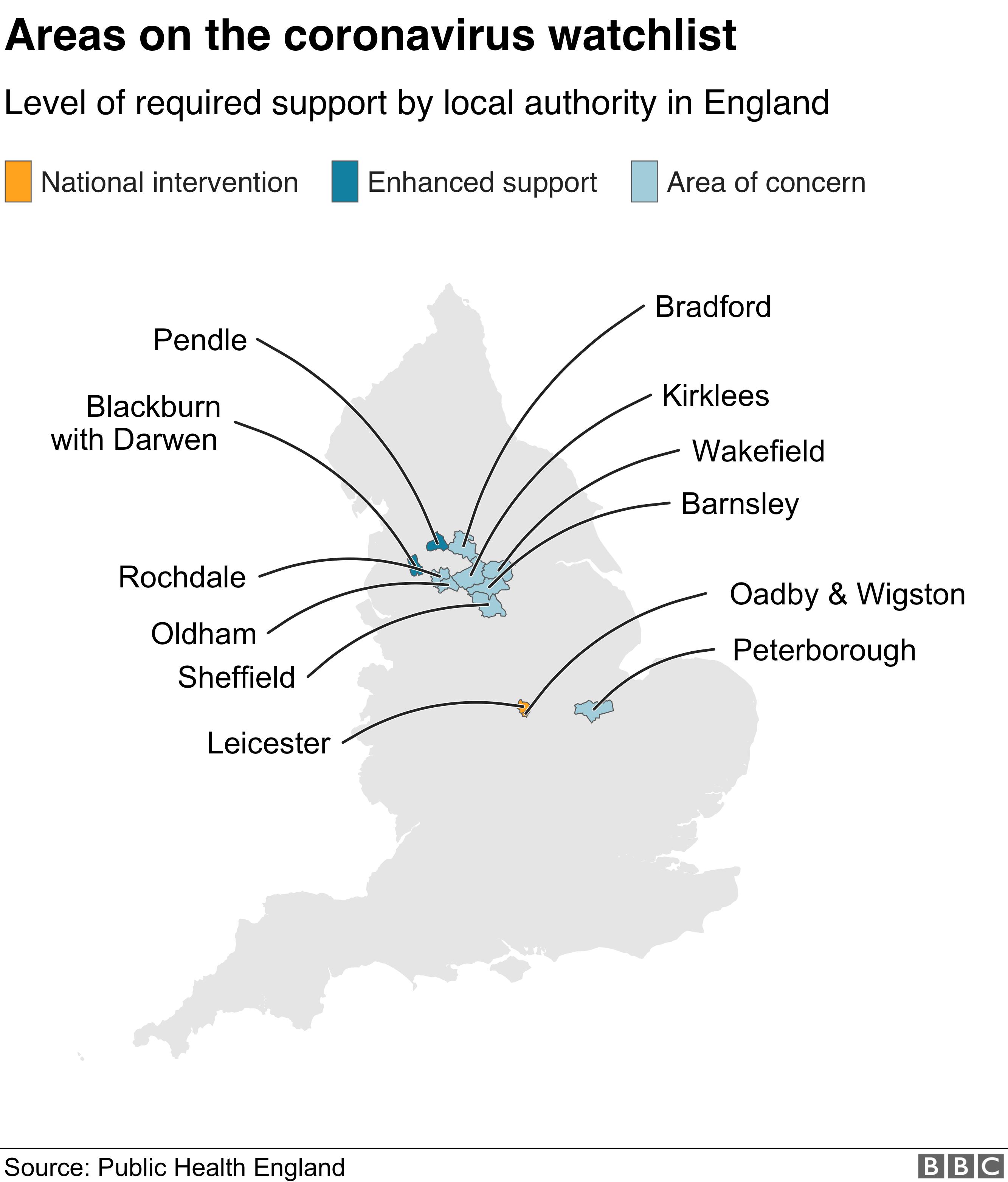 Coronavirus - Leicester _113489190_optimised-eng_watchlist_map_17jul_v3-nc