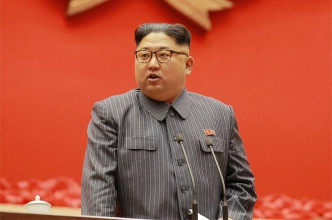 El líder norcoreano Kim