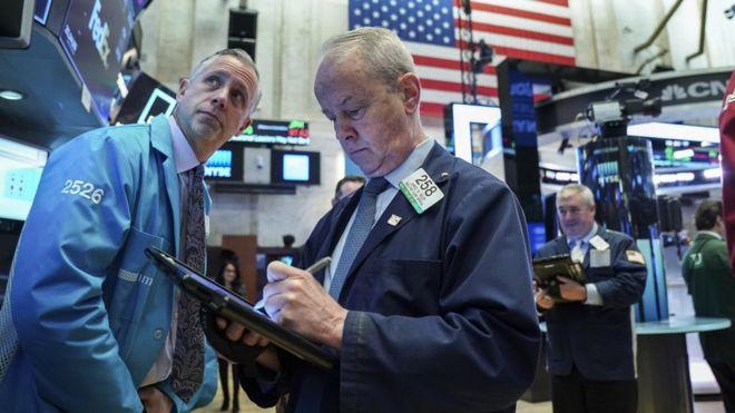 """Résultat de recherche d'images pour """"new york stock exchange, 2018, 2019"""""""