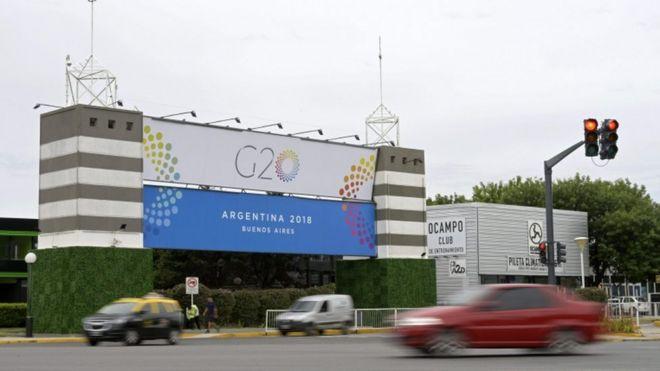 Sede del G20 en Buenos Aires, Argentina