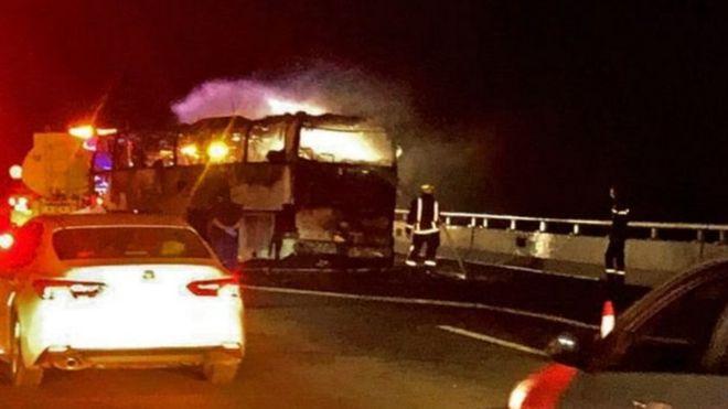 Saudi Arabia: 35 foreign-born pilgrims killed in bus accident near Medina