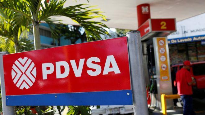 Gasolinera de PDVSA.