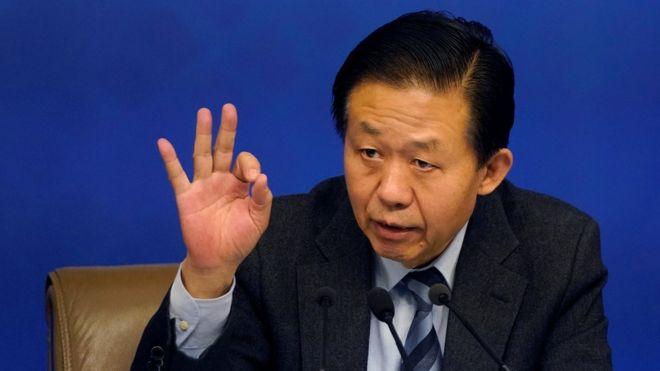 中國財政部長肖捷