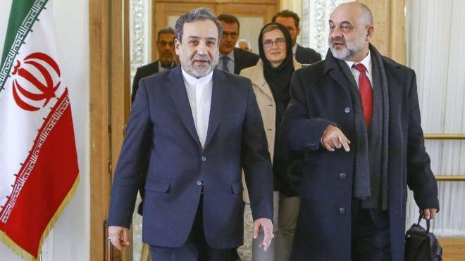 معاونان وزارت خارجه ایران و لهستان