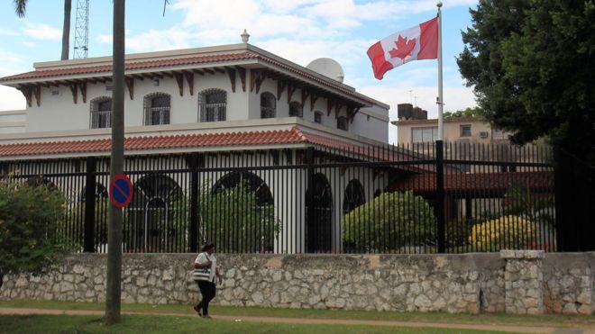 Resultado de imagen para embajada de canadá en cuba