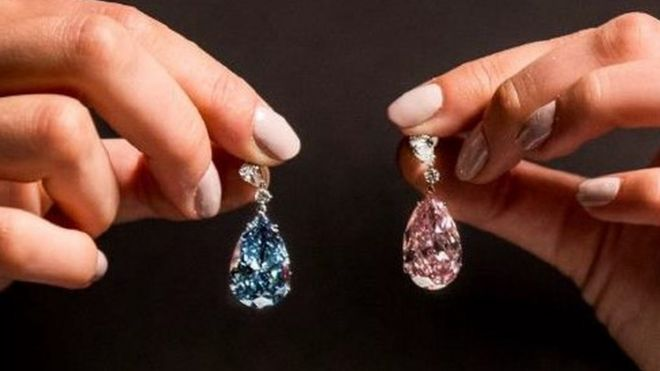 diamond earrings sell for world record 57 4m news