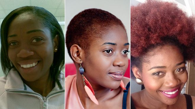 In Pictures My Natural Hair Journey Bbc News